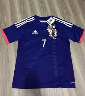 🚚 世界盃 worldcup adidas 日本 足球 短袖T恤上衣 遠藤保仁