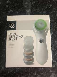 Facial spin brush