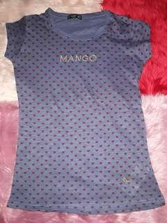 Mango blouse overrun