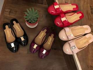 Ferragamo Half Doll Shoes