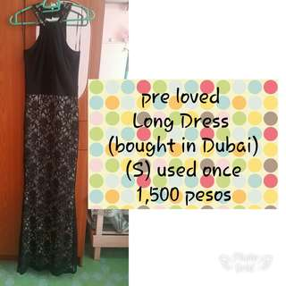 Pre love long dress/evening dress
