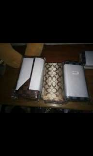 Authentic Long wallets
