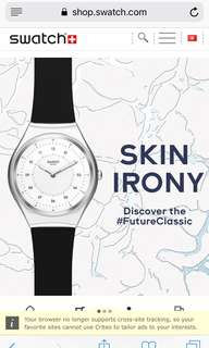 Swatch new collection skin irony