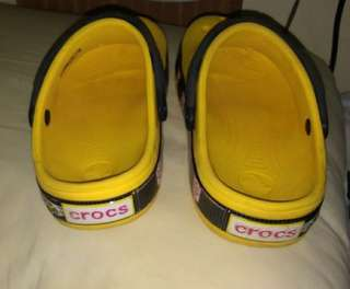 Crocs  blue 1&2 yrs old/yellow crocs 3to4 yrs old