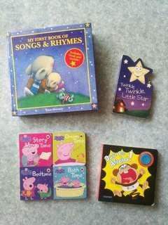 Books for baby (適合0-2歲親子共讀)