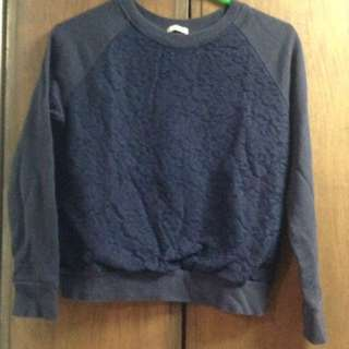 GUGU sweatshirt with lace