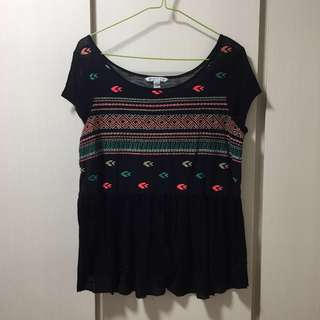 🚚 Embroidery Top