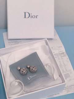Christian Dior WCJ earrings silver 耳環 Hermes Chanel