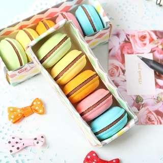 [Pre-order] Macaron erasers set