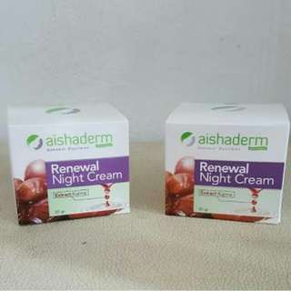 Aishaderm Renewal Night Cream