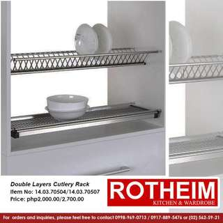Rotheim Double Layers Cutlery Racks