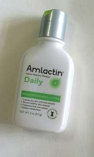 Amlactin alpha hydroxy therapy daily moisturising body lotion