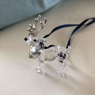 Swarovski Reindeer Ornament RETIRED & RARE