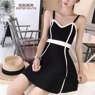Dress knitted