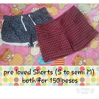 Pre love shorts