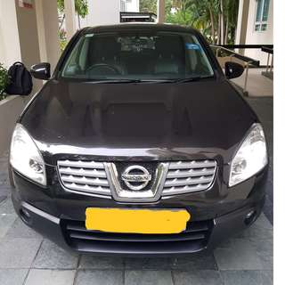 NISSAN QASHQAI 2.0L- SUPER COMFORTABLE, SOLID RIDE, SMOOTH ENGINE, PREMIUM, HANDSOME! GRAB/RYDEX /FILO/MVL READY! FULL MOONROOF!
