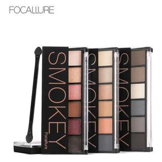 Focallure 6 Colour Smokey Eyeshadow Palette [PO]
