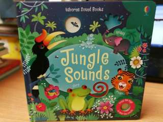 Usborne baby sound book - jungle sound