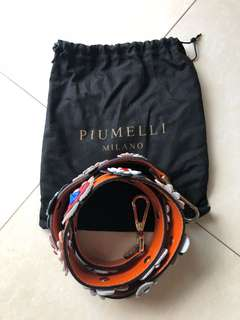 Brand new Piumelli bag long straps (41 inches)