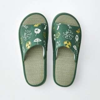 <🇯🇵日本預購> 迪士尼草𥱊家居拖鞋