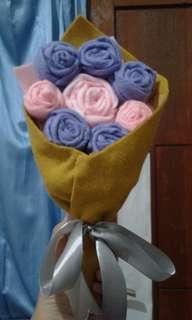 Buket Bunga Simple
