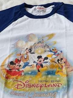 香港廸士尼樂園開幕及5周年紀念ㄒ恤