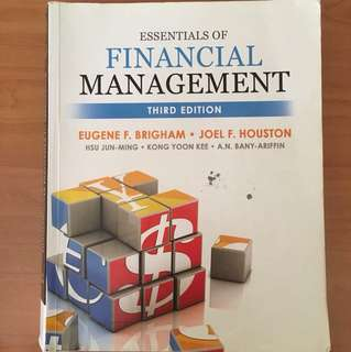 AB1201 Essentials of Financial Management