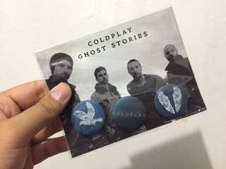 Coldplay 'Ghost Stories' official pin