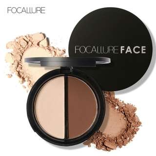 Focallure Highlighter + Contour Duo Palette [PO]
