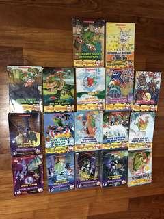 17 Geronimo Stilton Books