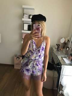 Show P.O. playsuit