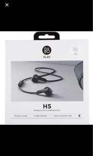 B&O H5 ear phones