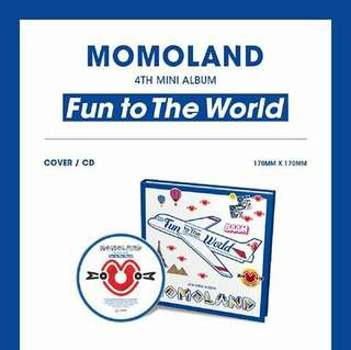 Momoland 4th Mini Album: Fun To The World