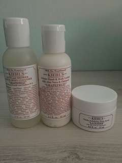 BN Kiehl's Travel Sized Body
