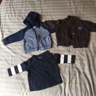 Baby boy long sleeve clothes