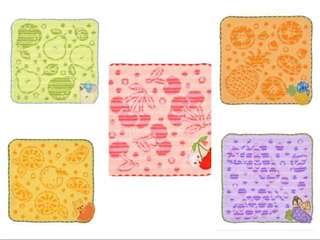 🚚 Sung-buy正版日本迪士尼刺繡巾維尼/小飛象/史迪奇/瑪麗貓/奇奇蒂蒂