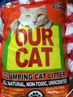 Cat Litter 4kg (Our Cat brand)