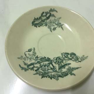 Vintage Coffee Plate