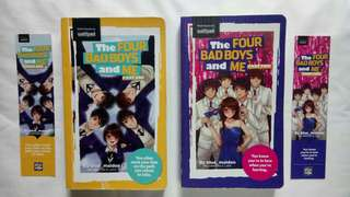The Four Bad Boys and Me book bundle