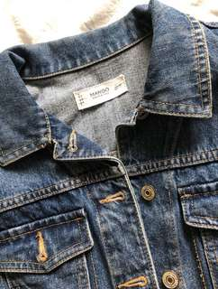 Mango Denim Jacket XS
