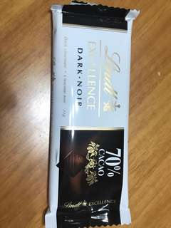 Lindt Excellence Dark Noir 70% Cacao