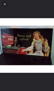 Vintage coka cola home decor