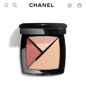 Chanel Palette Essentielle Blush Concealer