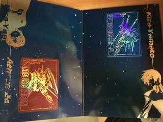 Gundam Seed 絕版紀念卡