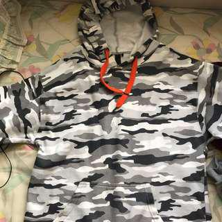 Camo hoodie from Factorie