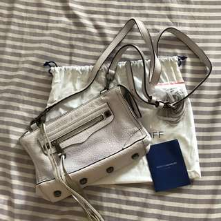 Authentic Rebecca Minkoff mini regan crossbody