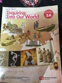 P5A Social Studies book