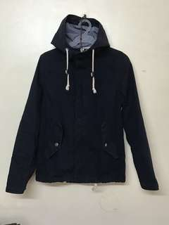 H&M (divided) trench hoodie XSmall
