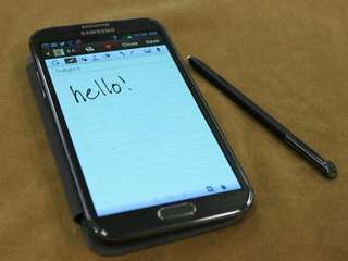 Samsung note2 sim 1