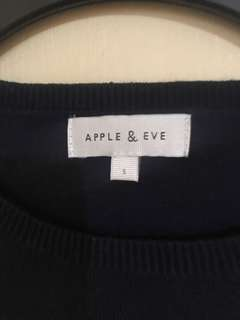Apple and eve top/ sweatshirt